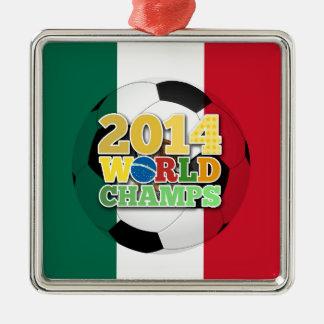 2014 världsmästareboll - Mexico Julgransprydnad Metall
