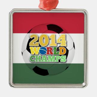 2014 världsmästareboll - Ungern Julgransprydnad Metall