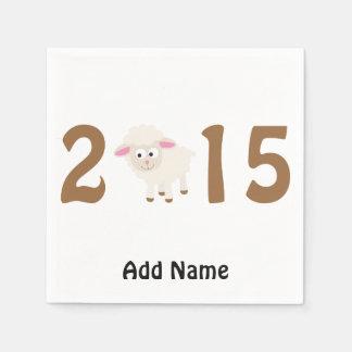 2015 - År av fårdesignen Pappersservett