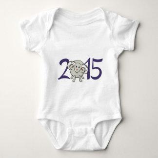 2015 år av fåren/geten/rammar tee shirt