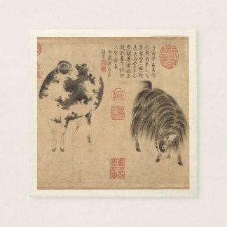 2015 ramma fårgetåret - pappra servetter för kines