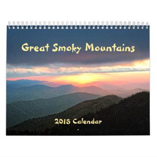 2015 underbara rökiga bergkalender kalender