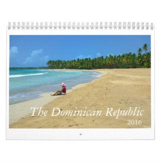 2016 kalender Dominikanska republiken