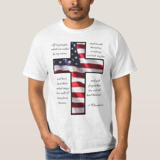 2016 kristna politiska påstående tee shirts