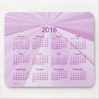 2016 magentafärgade stjärnakalender vid den Janz Musmattor