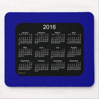 2016 marinblåa kalender av Janz Mousepad Musmattor