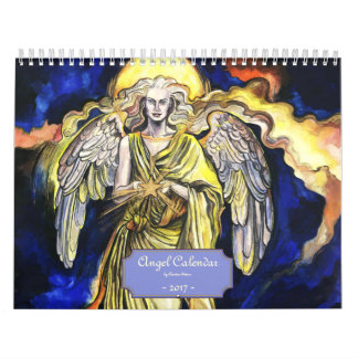 2017 en ängelkalender - medel (2) kalender