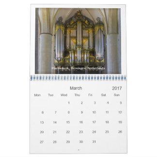 2017-Matter av rektor - leda i rör organkalendern Kalender