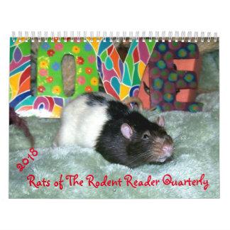 2018 RÅTTOR av Rodentavläsarkalendern Kalender