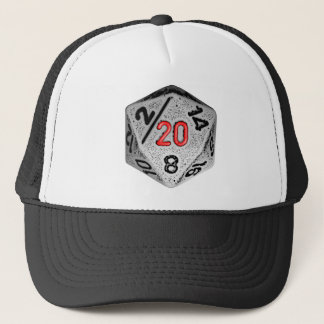 20 sidlek - hatttärning endast truckerkeps