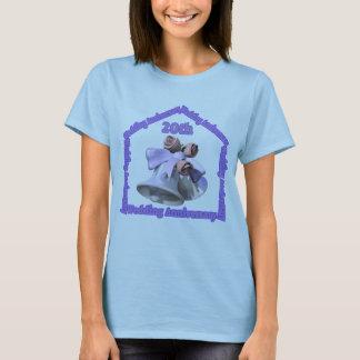 20th Bröllopsdaggåvor T-shirt
