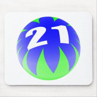 21st Födelsedag Musmatta