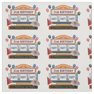 21st FödelsedagsfestPARTYLas Vegas tyg
