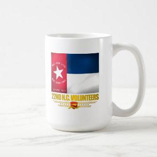 22nd North Carolina volontärinfanteri Kaffemugg