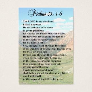 23rd Personliga kort för Psalm