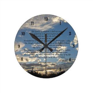 23rd Psalm Rund Klocka