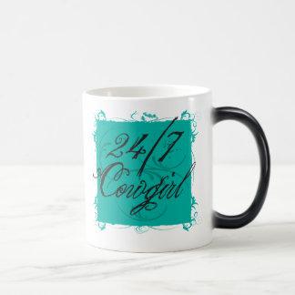 24/7 Morphing mugg för Cowgirl