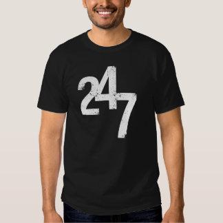 24/7 t-skjorta för aktivfolk något liknande dig tee shirts