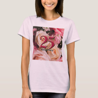 25th Bröllopsdaggåvor Tee Shirts