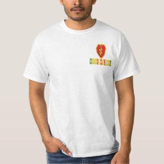 25th Infanteri Div. Besättningchef skjorta för T Shirt