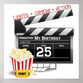 25th Party för födelsedagHollywood film Poster