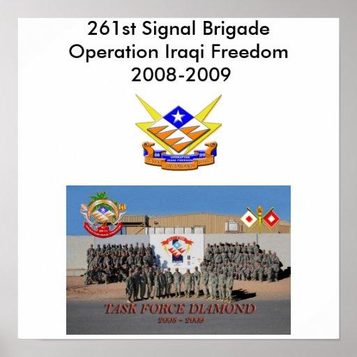 261. Signalera brigaden Affisch