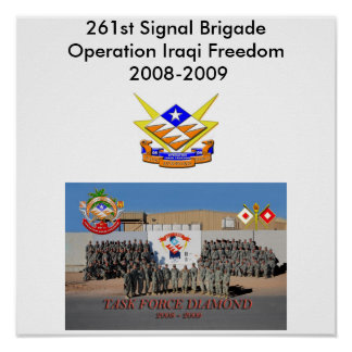 261. Signalera brigaden Poster