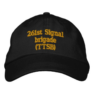 261. Signalera brigaden (TTSB) Broderad Keps