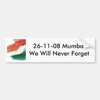 26/11 Mumbai bildekal