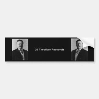 26 Theodore Roosevelt Bildekal