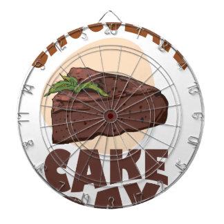 27th Januari - chokladtårtadag Darttavlor