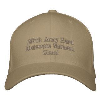 287. Armémusikband Delaware Broderad Keps