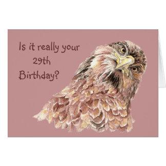 29th Födelsedag som är rolig eller förolämpar den Hälsningskort