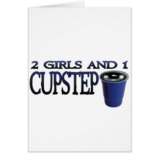 2 flickor och 1 Cupstep NEDSMUTSAD DUBSTEP Kort