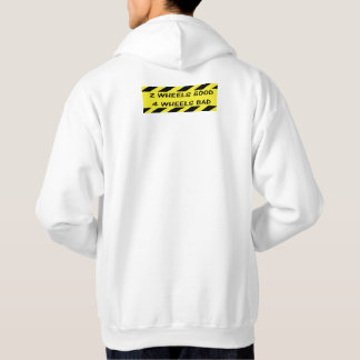 """""""2 hjulbra"""" som cyklar hoodies för pengar sweatshirt"""