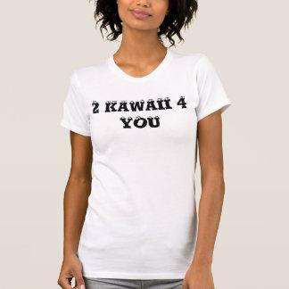 2 KAWAII 4 DIG T SHIRTS
