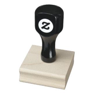"""2"""" x 2"""" Wood konstfrimärke Gummistämpel"""
