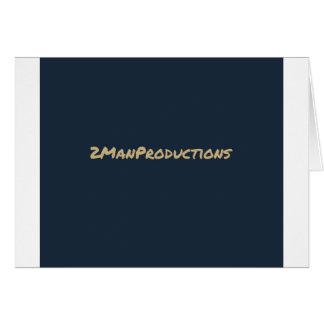 2ManProductions Hälsningskort