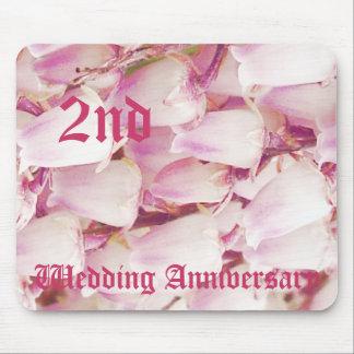 2nd bröllopsdag - liljekonvalj musmatta