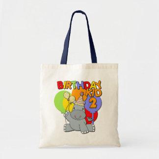 2nd födelsedag för flodhäst budget tygkasse