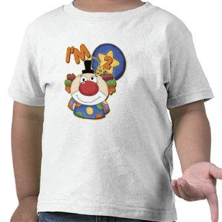 2nd Födelsedagclownfödelsedag T-shirts
