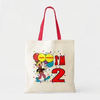 2nd Födelsedagclownfödelsedag Tote Bags