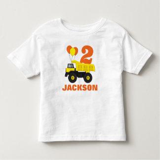 2nd födelsedagdräkt för konstruktion •, t-shirt