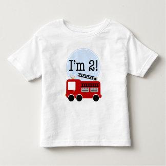 2nd Födelsedagen avfyrar lastbilen T-shirt