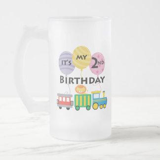 2nd Födelsedagtågfödelsedag Muggar