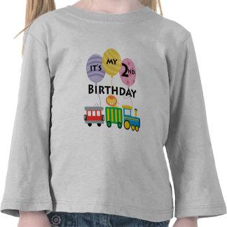 2nd Födelsedagtågfödelsedag T Shirt