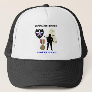 2nd Hatt för Vet för infanteriuppdelningsIrak krig Keps