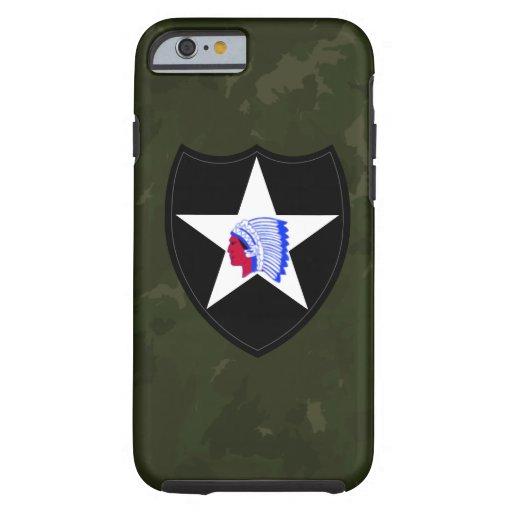 "2nd Infanteriuppdelning ""understöder till inga"" Tough iPhone 6 Fodral"