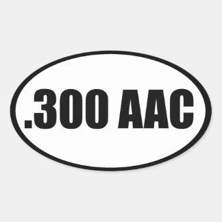 .300 AAC OVALT KLISTERMÄRKE