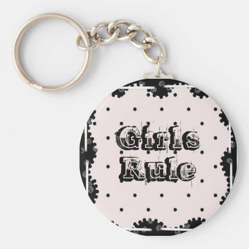 3058_full flickor härskar nyckel ringar